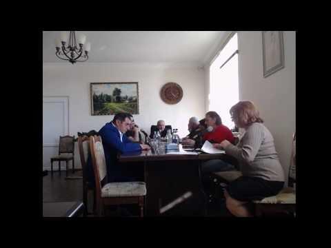 Ջրվեժ Համայնքի Ավագանու հերթական նիստ12.04.2019
