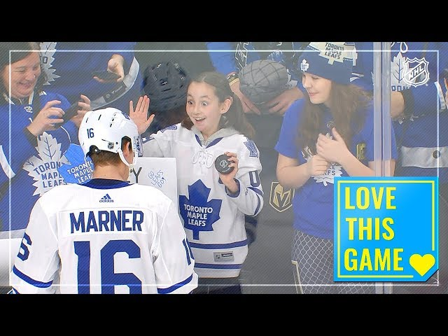 Mitch Marner makes a fan's Valentine's Day special