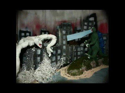 Godzilla Vs Cloverfield Monster Claymation  YouTube