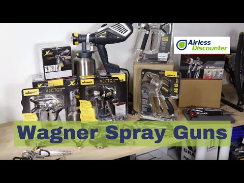 Wagner Spray Guns Overview - Airless Paint Spraying For Beginners