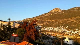 Kalkan beldesi kaş Antalya kasım 2014