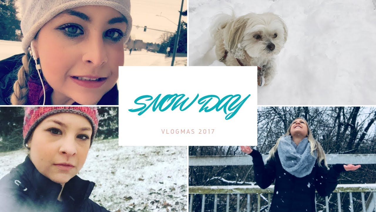 Vlogmas Days 12 & 13 Snow Day & ZooLights
