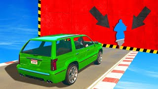 FIGURE OUT How To Get Through This GAP! (GTA 5 Funny Moments)