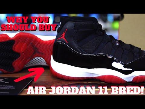 Why YOU SHOULD Buy The Air Jordan 11 BRED!