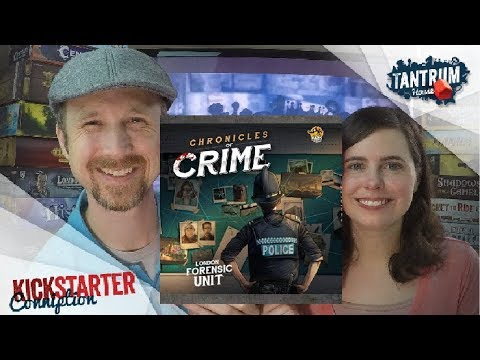 Chronicles of Crime Board Game Preview