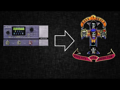 Mooer GE200 | Guns N' Roses Appetite for Destruction