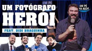 COMENTANDO HISTÓRIAS #112 - O FOTÓGRAFO HERÓI com Didi Braguinha