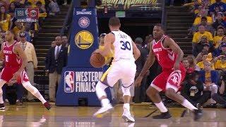 Stephen Curry Dances on Joe Johnson - Game 6 | Rockets vs Warriors | 2018 NBA West Finals