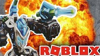 INSANE GIANT ROBOT MECH BATTLE IN ROBLOX!