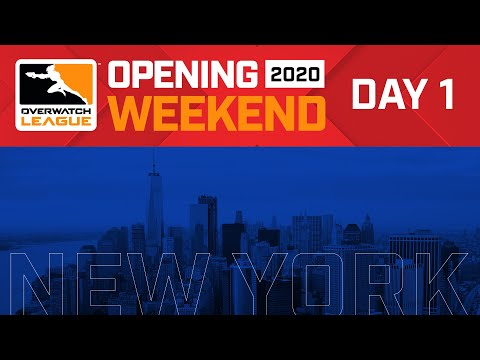 Overwatch League 2020 Season Opening Weekend | Hosted By New York Excelsior | Day 1