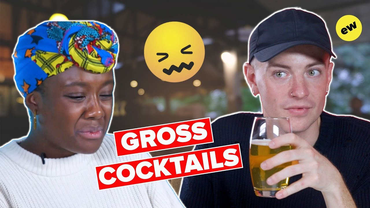 Brits Try Gross Student Cocktails (Supercut)