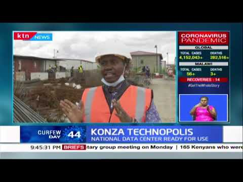 Konza Technopolis: The construction of the National Data Center at Konza technopolis ready for use