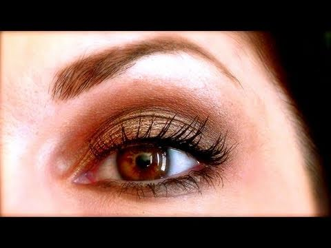 maquillage naturel smoky eyes neutres avec mac satin taupe youtube. Black Bedroom Furniture Sets. Home Design Ideas