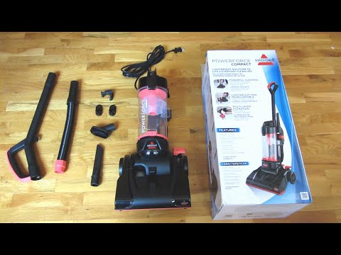 bissell powerforce compact unboxing bagless vacuum