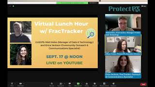 Virtual Lunch Hour : Sept. 17 - Fractracker Mapping & Data on UNGD
