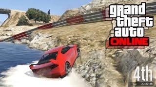 GTA 5 Online - Състезания   Elegy POWER