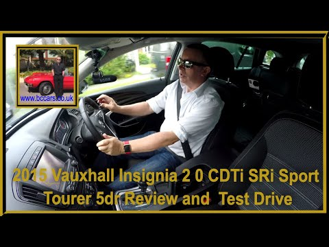 Review and Virtual Video Test Drive of our Vauxhall Insignia 2 0 CDTi SRi Sport Tourer 5dr