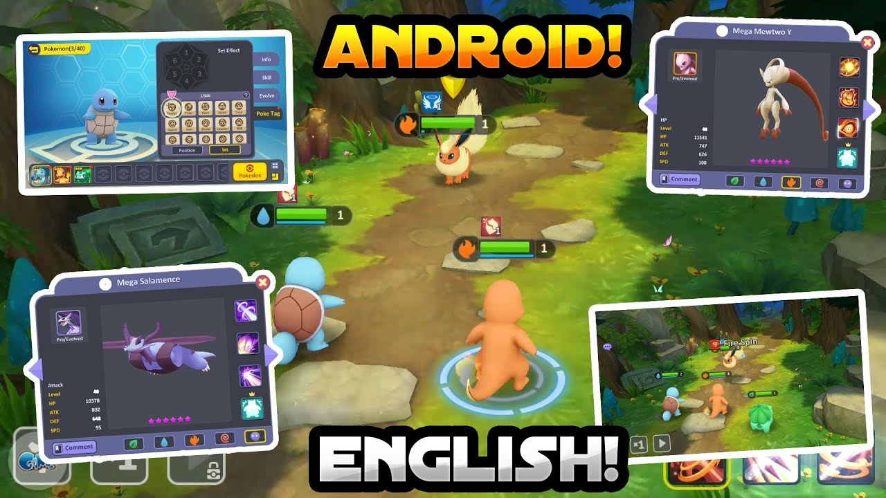 New Pokemon Game For Android 2018 English Gameplay