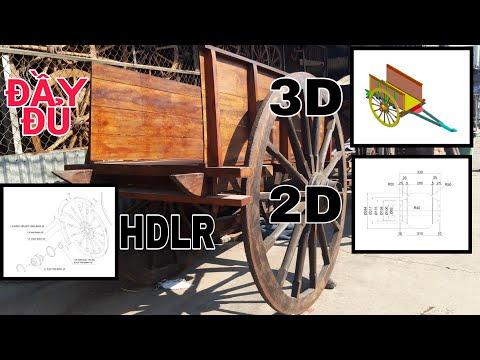 XE BÒ CÓ BẢN VẼ 2D,3D,HDLR KÍCH THƯỚC ĐẦY ĐỦ #liem58tv#liem58