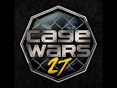 Cage Wars 27 Omowale Adewale vs James Hilton