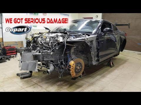 Rebuilding a WRECKED 2010 Nissan GTR (part 2)