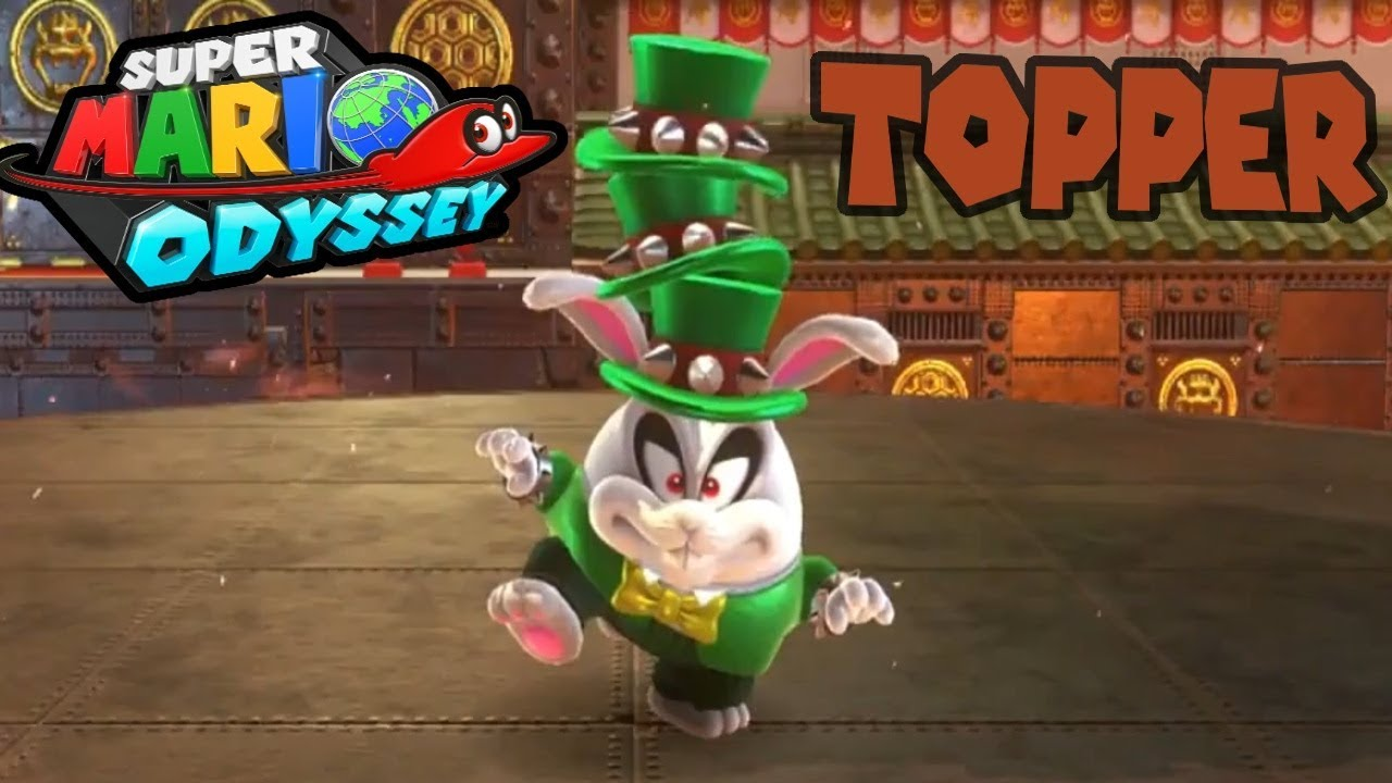 Super Mario Odyssey Topper Boss Bowser S Kingdom Battle Youtube
