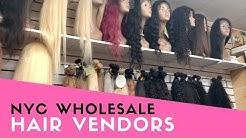 #GIRLBOSS - WHOLESALE HAIR VENDOR SHOPPING IN NYC!