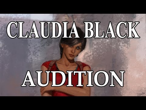 Uncharted 2: Claudia Black Audition