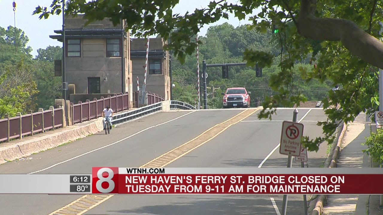 Ferry Street Bridge closed Tuesday morning