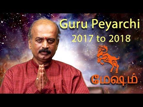 Mesha Rasi (Aries) - Guru Peyarchi Palangal 2017 by Srirangam Ravi | +91 81443 66588