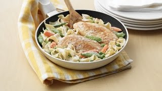 Chicken & Noodle Skillet Supper | Dairy Farmers Of Canada