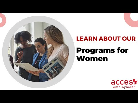 Programs for Women at ACCES