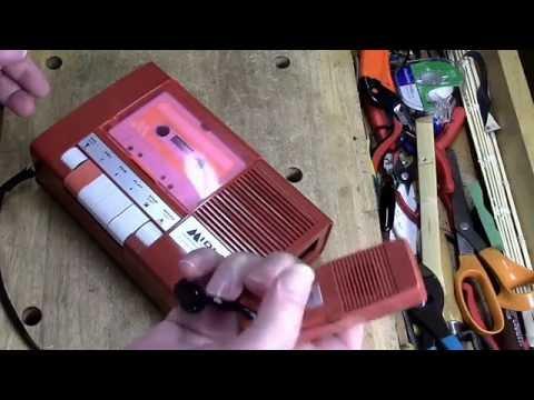 WORST Tape Recorder EVER!  - Midland 12-100 Vintage Cassette Recorder