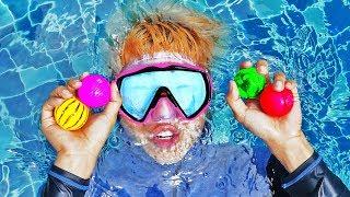 물놀이 인기 동요 놀이 Swimming Song Pretend Play Nursery Rhymes & Kids Songs