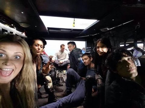 THE 100 CAST  SEASON 3 HD