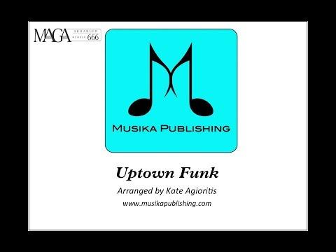 Uptown Funk - Flute Quartet