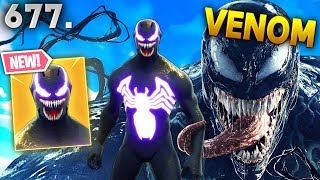 *REAL* VENOM IN FORTNITE.. WTF!!? Fortnite Funny WTF Fails and Daily Best Moments Ep.677