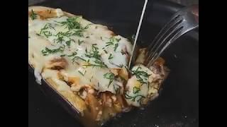 Рецепт фаршированных баклажанов | Баклажаны с мясом
