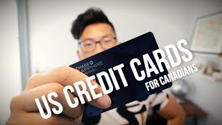 Getting US Credit Cards for Canadians