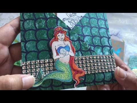 Mermaid inspired craft projects made by my Crafty Friends!