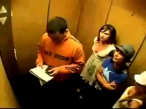Çılgın Kızlar   Gazlı Asansör  Komik Video