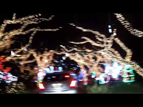lights in one village in North palm Beach