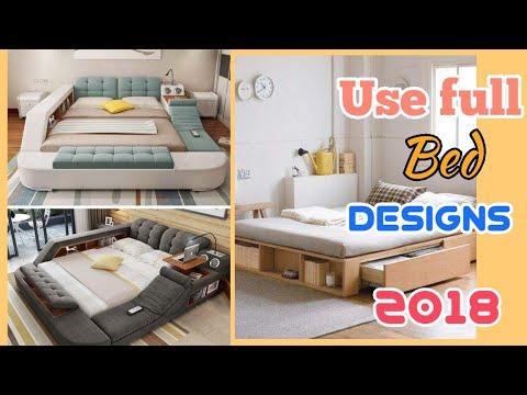 👌Wonder full Bed Design|| 👍Use full Bed Design|| World Best Design|| 2018||Double Bed Design||Bed|