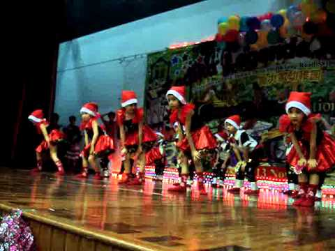 thriller and jingle bell rock by 5 year olds - YouTube