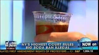 bloomberg and the soda law essay A new york judge is forcing the bloomberg administration to take a big gulp -- striking down its groundbreaking and controversial limit on the size of sugary drinks in new york city shortly before.