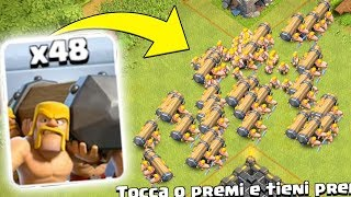 ATTACCO con 48 ARIETI DA BATTAGLIA su Clash of Clans! NUOVO EVENTO su Clash of Clans!
