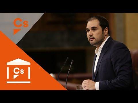 Rodrigo Gómez. Debate de los Presupuestos Generales 2018