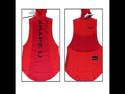 CPMAX 歐美運動背心 無袖連帽外健身服 戶外跑步運動服 健身服 運動背心 背心 慢跑背心 健身衣服 VE17