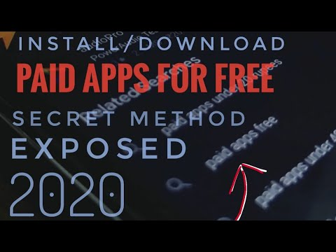 Download PAID ANDROID APPS FOR FREE 2020 || No Root | 100% WORKING 🔥