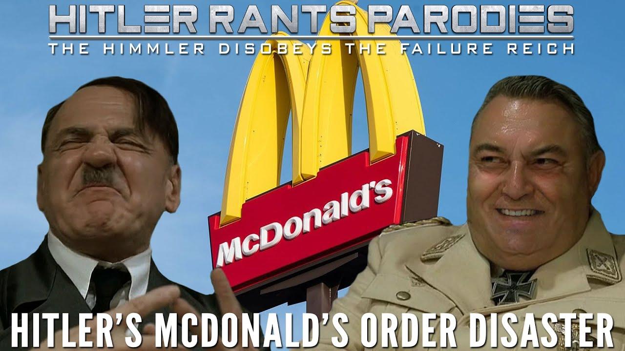Hitler's McDonald's order disaster